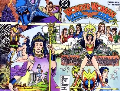 """George Perez Reinvented """"Wonder Woman"""" in 1987"""