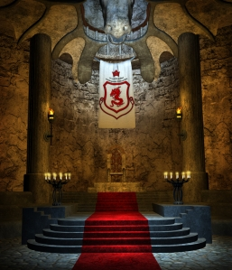 Enter the Throne-Room of a King of Nidaveller in A..J.'s Epic Fantasy Saga!