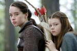 21st Century Epic Fantasy Women: Rebooted from 20th C. origins: Susan (Anna Popplewell) & Lucy Pevensie (Georgie Henley), The Chronicles of Narnia: Prince Caspian (Walt Disney Pictures, 2008)