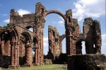 Ruins of Lindisfarne Priory (Viking Raid of 793 AD)