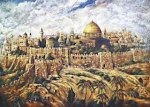 Jerusalem in the Middle Ages (Holy to Jews, Christians, & Islam)