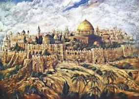 Image result for jerusalem medieval