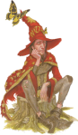 Rincewind on Discworld (Pratchett)