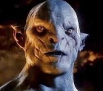 Azog the Defiler (Manu Bennett) The Hobbit, 2012 New Line Cinema