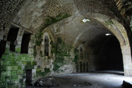 The Krak des Chevaliers (Wikipedia Commons)