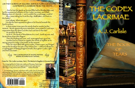 Argo Navis Galley Proof _The Codex Lacrimae, Part 2: The Book of Tears