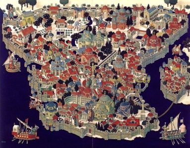 Midgard, Byzantium in the Middle Ages