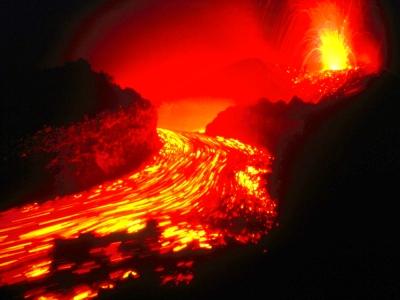 Evening Splendor, Volcanoes National Park, Hawaii