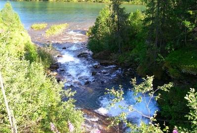 """Morning in Alfheim"" (Eiterå River, Norway)"