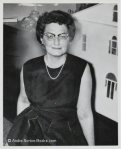 Andre Norton in 1960s (Photo from Official Website, andre-norton-books.com)