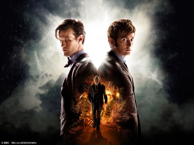 "Doctor Who: ""The Day of the Doctor"" (Matt Smith, David Tennant, and John Hurt as ""The Doctor"")"