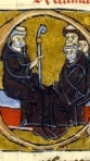 Peter the Venerable & His Monks (13th c.)