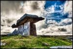 Poulnaborne Dolmen Tomb (megalithic portal, Ireland; Rob Shaw, Irish Archaeology.ie)