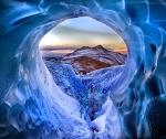 The Viking Underworld of Hel (Solheimajokull Glacier, Iceland; 2013, by Marketa Kalvachova, Daily Telegraph, UK)
