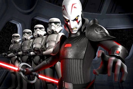 Star Wars- Rebels (The Inquisitor)