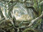 Tolkien, The Hobbit (at the edge of Mirkwood, Alan Lee)