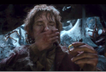 Bilbo & One Ring (after slaying spider)