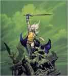 "Moorcock, Elric of Melnibone (""Stormbringer"" by Michael Whelan)"
