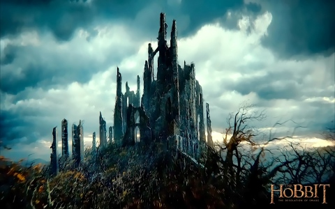 Dol Guldur (from Peter Jackson's The Hobbit trilogy, New Line Cinema, 2012-2014)