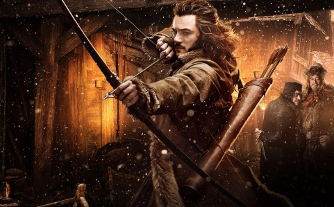 """Bard's Early Appearance in Peter Jackson's """"The Hobbit, The Desolation of Smaug"""" (New Line Cinema/Warner Bros., 2013)"""