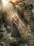 Gandalf (Ian McKellen) in Dol Guldur