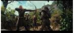 """Legolas & Tauriel Fighting Orcs (""""Barrels Out of Bond,"""" DoS, 2013)"""