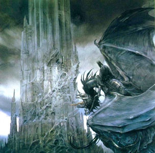 Lord of the Nazgûl (by John Howe)