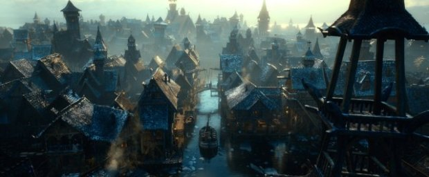 """J.R.R. Tolkien, The Hobbit, Chapter 10: """"A Warm Welcome"""" (from The Hobbit: The Desolation of Smaug, New Line Cinema & Warner Bros., 2013)"""