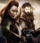 Tauriel & Kili (New Line Cinema, 2013; Deviant Art, Emily Eretica)