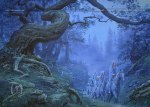 "Tolkien, ""Elf Woods"" (by Ted Nasmith)"
