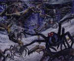 The Spiders of Mirkwood (Ted Nasmith)