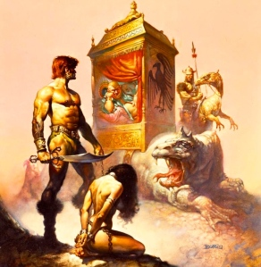 20th Century Male Fantasy: John Norman's Gor Series (Cover Art, Boris Vallejo)