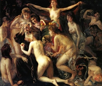 "A 19th Century Male Fantasy: ""The Temptation of St. Anthony"" (Lovis Corinth, 1898)"
