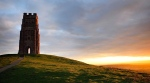 Arthur's Avalon? (Glastonbury Tor; Somerset, England; Getty Images)