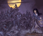 "Bourke's Post-Epic Fantasy Criteria: Urban/Dark (Laurell K. Hamilton's ""Anita Blake, Vampire Hunter"" - art by Ron Lim)"