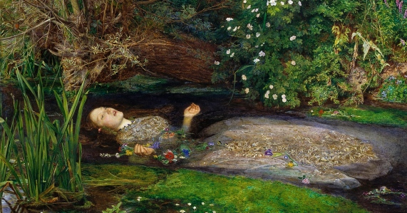 "Fin-de-Siecle Male Ethos: ""The Madness and Folly of Women"" (Sir John Everett Millais, ""Ophelia,"" 1851)"