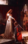 (Relatively) Unrequited Love: Lancelot & Guinevere (E.B. Leighton)