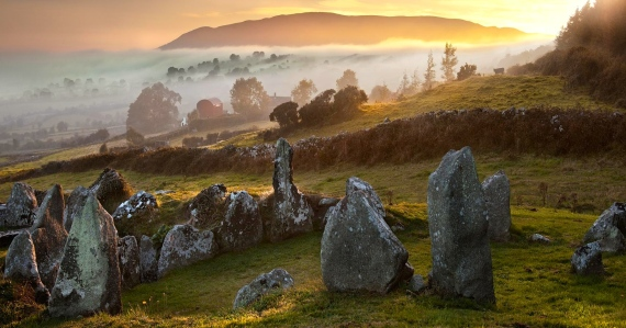 Land of Arthurian Legends (Sunrise in Wales)