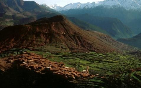Medieval Mediterranean- Ourika Valley (Marrakesh, Atlas Mountains, North Africa)