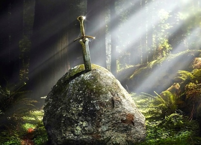 A.J. Carlisle's Inspiration for Epic Fantasy: Sources based in Medieval Myths & Legends (The Sword in the Stone)