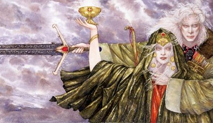 """Michael Moorcock, """"The Dreamthief's Daughter"""" (art by Robert Gould)"""