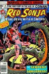 Hacking Literally & Figuratively Through Male Snakes: Red Sonja, She-Devil with a Sword (#8, Roy Thomas & Nestor Redondo)