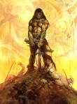 Robert E. Howard, Conan the Adventurer (art by Frank Frazetta)