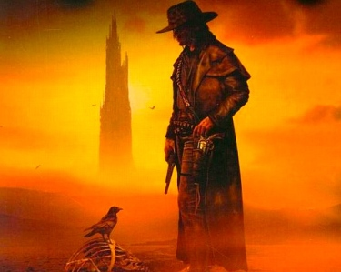 Stephen King, The Gunslinger; Book One of The Dark Tower series (art by Michael Whelan)
