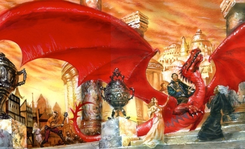 Terry Goodkind, Wizard's First Rule (art by Doug Beekman)