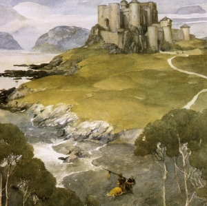 The Mabinogion (art by Alan Lee)