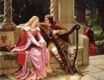 Tristan & Isolde (Edmund Leighton, d. 1922)