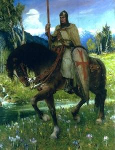 """Chrétien de Troyes, """"Perceval, le Conte du Graal"""" (Ferdinand Leeke, 1912)"""