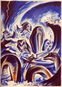 "Tolkien's Medieval Textual Interest: ""Beowulf"" (1939 ed., trans. by William Ellery Leonard; art by Lynn Ward)"