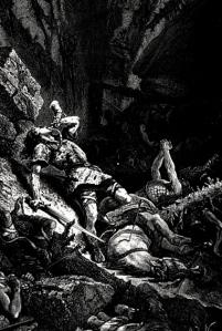 """""""Roland at Roncesvalles"""" (Francois Guizot, 1883)"""